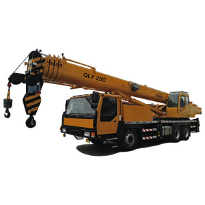 QLY25C truck crane | U-shape telescopic boom crane | mobile crane | 25 ton lifting capacity | construction crane – henglida construction machinery company