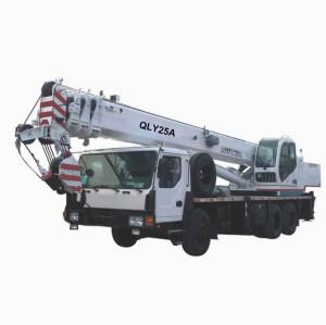 QLY25A truck crane | crane truck | mobile crane | 25 ton lifting capacity | Best Truck Cranes – www.henglida-china.com