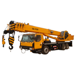 QLY25 truck crane | telescopic boom crane | mobile crane | 25 ton lifting capacity | china truck crane for sale