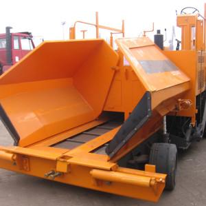 APZ45E mechanical wheel asphalt paver   2.5-4.5m paving width   Asphalt Pavers,   wheeled   Tracked   Construction Equipment   henglida construction machinery company