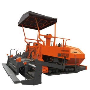 LTL60C track type asphalt paver | mechanical driven | 2.5-6m paving width | world's leading supplier of tow-type asphalt paver