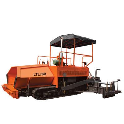LTL70B track type asphalt paver   mechanical driven   3-7m paving width   China Asphalt Concrete paver