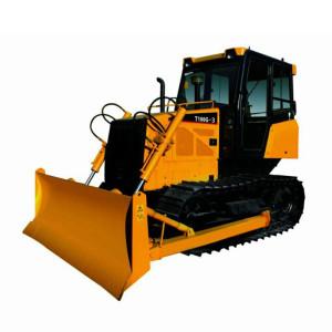 T100G crawler bulldozer | mechanical driven | 81kw (110HP) | 2.4m3 blade | 10.4 ton | mechanical track bulldozer | China Bulldozer