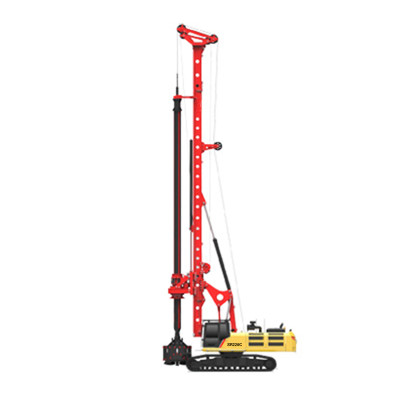 SR220C hot sale 220kN.m rotary drilling rig | China high quality hydraulic rotary drilling equipment | HENGLIDA-piling rigs & drilling rigs supplier