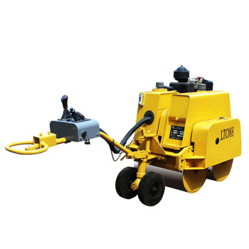 LTC08H 770kgs mini walk behind road roller (CE) | hydraulic driven road roller | pedestrian roller | road construction machinery | www.henglida-china.com