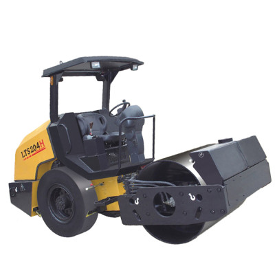 LTS204H:  hydraulic rear wheel driven, 4 ton mini hydraulic vibratory road roller with smooth rear tires ( CE ) | Compaction Equipment | Road Rollers | Roller Compactor | www.henglida-china.com