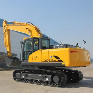MC216 / الحفارة  / حفارة الزحافة / قدرة الباكت 0.9 مكعب / وزن التشغيل  20.8  طن  / SINO-CEM