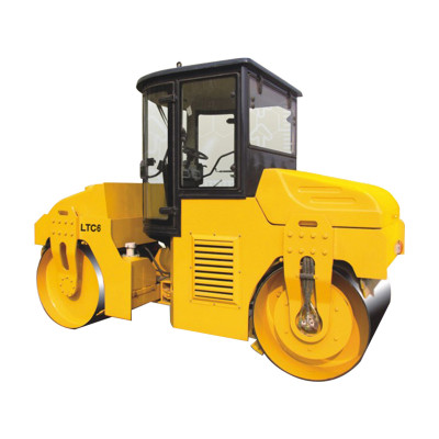 LTC6: mechanical driven, 6 ton tandem vibratory road roller ( CE ) | china small vibratory road roller | high quality factory price |‎ www.henglida-china.com