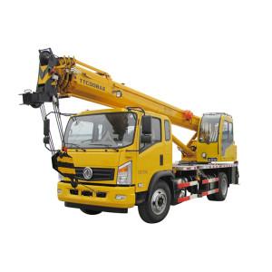 TTC008A2-IV Truck Crane (Tier-4) 8 ton small truck crane | crane truck | Truck Crane Suppliers and manufacturer