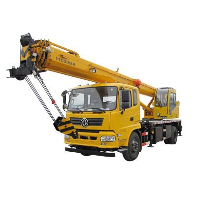12 ton, 4 boom, TTC012A2-IV Truck Crane (Tier-4) | crane truck | Truck Crane Suppliers and manufacturer