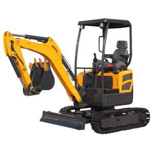 2 ton,CE20 mini crawler excavator, 0.07 M3 bucket   mini digger   hydraulic mini crawler excavator