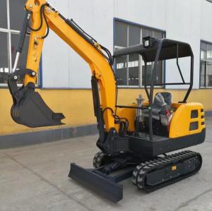 2.2 ,CE22 ton mini crawler excavator,0.1 bucket (CE)   mini digger   hydraulic mini crawler excavator