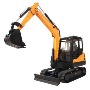 6.5 Ton,CE65 small crawler excavator ,0.21 M3 bucket|small excavator for sale | compact crawler excavatorr