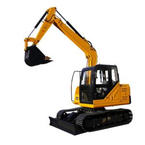 CE75D,7.5 ton small crawler excavator ,0.28 M3 bucket (CE) |small excavator for sale | compact crawler excavator