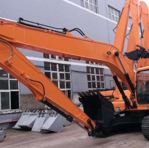 JY623ELD /  حفارة الزحافة / قدرة الباكت 0.6 مكعب / وزن التشغيل 23.9 طن / ذراع الحفارة 12.7متر