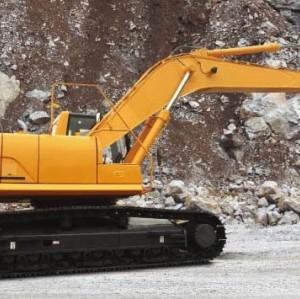 JY633E / الحفارة  / حفارة الزحافة / قدرة الباكت 1.53 مكعب / وزن التشغيل  32.7  طن  / SINO-CEM