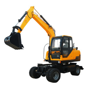 Hot sale wheel excavator WE70 wheel excavator| wheel digger | wheel trench excavator