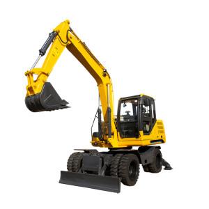 Hot sale wheel excavator WE80 wheel excavator  wheel digger   wheel trench excavator