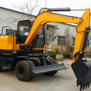 Hot sale wheel excavator WE80 wheel excavator| wheel digger | wheel trench excavator