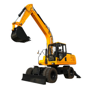 WE135,13.5 ton wheel excavator| wheel digger | wheel trench excavator