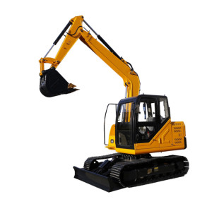 MC76 / الحفارة  / حفارة الزحافة / قدرة الباكت 0.32 مكعب / وزن التشغيل 7.65 طن  / SINO-CEM