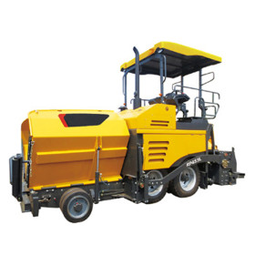 RP453L hydraulic wheeled asphalt paver | 2-4.5m paving width | Asphalt Pavers, | wheeled | Tracked | Construction Equipment | henglida construction machinery company