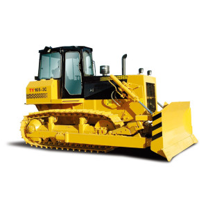 TY165  hydraulic crawler bulldozer | 120kw (160HP) | 16.9 ton operating weight |  HENGLIDA TY series hydraulic crawler bulldozer | Komatsu technology bulldozer