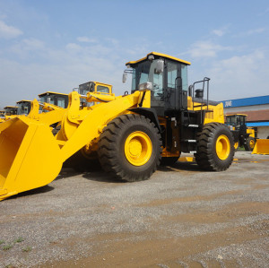Hot sale WL955 5 ton, 3m3 wheel loader | 5 ton rated load | cummins engine | hot sale wheel loader | quality wheel loader