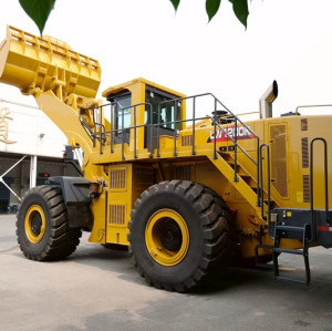 HIGH QUALITY LW1200KN wheel loader   cummins engine   6.5m3 bucket   2 ton rated load   henglida construction machinery