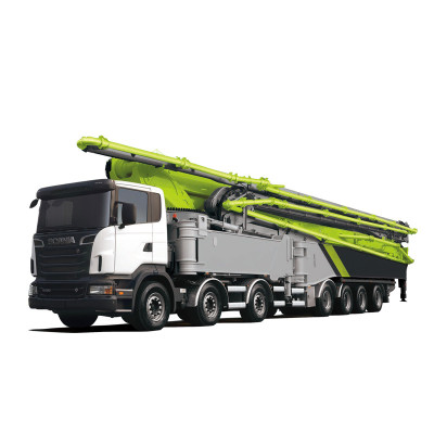 ZM series 23-63m truck-mounted concrete boom pump| concrete pump truck| 23.2m-62.6m Placing height
