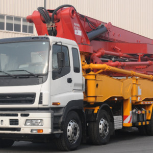 AH5384THB-47  47m concrete pump truck| vehicle of concrete pumping| 47m Placing height