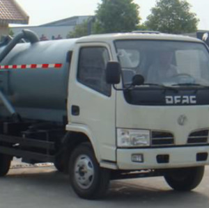 JDF5060GXW VACUUM SEWAGE  SUCTION TRUCK| 5000L suction sewage truck