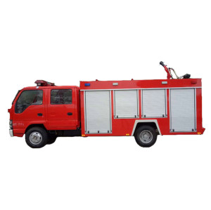 JDF5140GXFSG50/E water tank fire truck|  5-6m3 fire fighting truck | fire-extinguishing water tanker