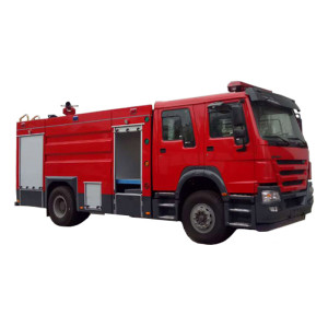 JDF5204GXFSG80 water tank fire truck|  8m3 fire-extinguishing water tanker| firefighting and truck