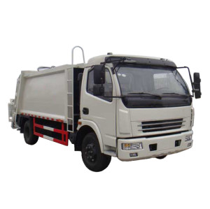 JDF5080ZYSE5 GARBAGE COMPACTOR TRUCK | 7-8m3  refuse collection vehicle | Garbage Compression Vehicle