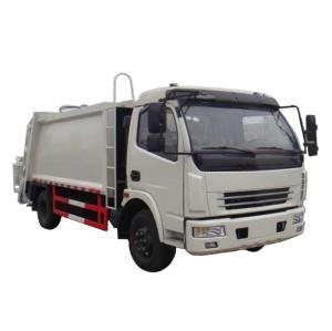 JDF5080ZYSE5 GARBAGE COMPACTOR TRUCK | 7-8m3  refuse collection vehicle | Garbage Compression Vehicle