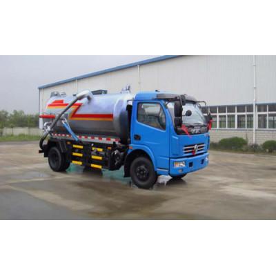 JDF5090GXW vacuum sewage suction truck| 6000L vacuum cleaning truck