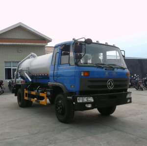 EQ5253GFJ2 vacuum sewage suction truck| 15000-18000L suction sewage truck