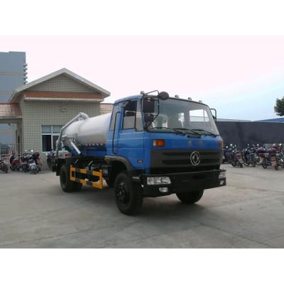 China supply EQ1141KJ vacuum sewage suction truck| 8000L vacuum cleaning truck