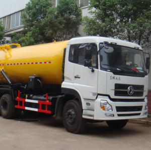 JDF5250GXWDFL hot sale  vacuum sewage suction truck| 15000-18000L suction sewage truck