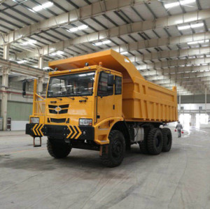 90 Ton Off-highway Trucks| 6x4 mining dumper truck with cummins engine for sale | HENGLIDA earthmoving and mining equipment | www.henglida-china.com