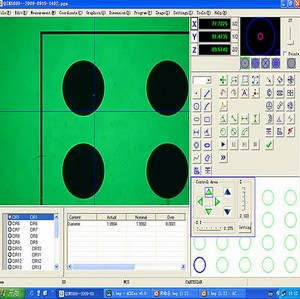 CNC 2D Metrology Measuring Software