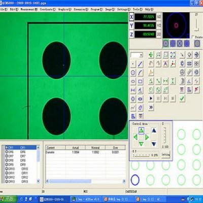 CNC 2D Metrology Measuring Software