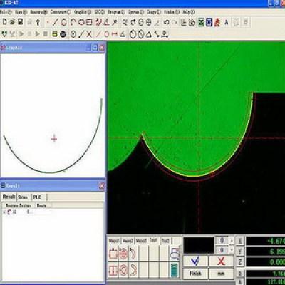 Manual 2D Metrology Measuring Software