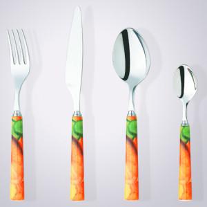 Reusable knife spoon fork inox cutlery