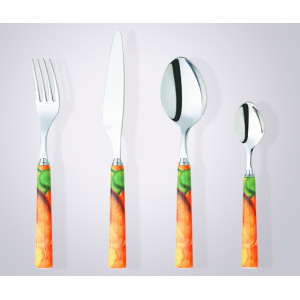 Reusable knife spoon fork inox cutlery