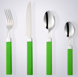 Fascinating, fashinable, satisfying Cathylin gold plated flatware wholesale