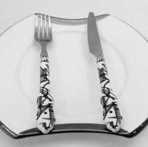 Friut fork and knife