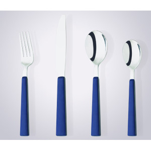 CS2001 plastic handle cutlery set for promotion silverware