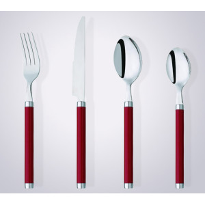 CS2006 promotional plastic handle cutlery set